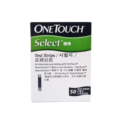 Picture of OneTouch Select Test Strip 50Pcs