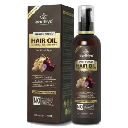 Picture of Earthiya Onion & Ginger Hair Oil