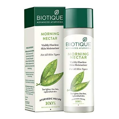 Picture of Biotique Bio Morning Nectar Visibly Flawless Skin Moisturizer 120Ml