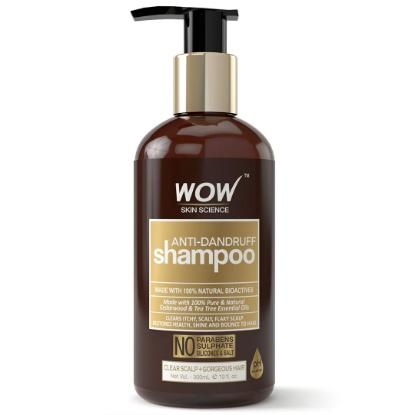 Picture of Wow Skin Science Anti Dandruff Shampoo 300ml