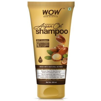 Picture of Wow Skin Science Moroccan Argan Oil Shampoo 200ml