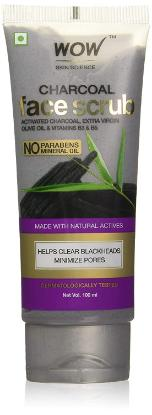 Picture of Wow Activated Charcoal Face Scrub 100ml