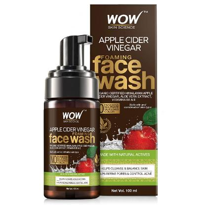 Picture of Wow Skin Science Apple Cider Vinegar Face Wash 100ml