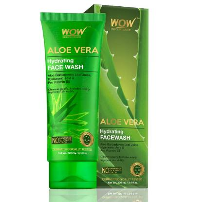 Picture of Wow Skin Science Aloe Vera Hydrating Face Wash 100ml