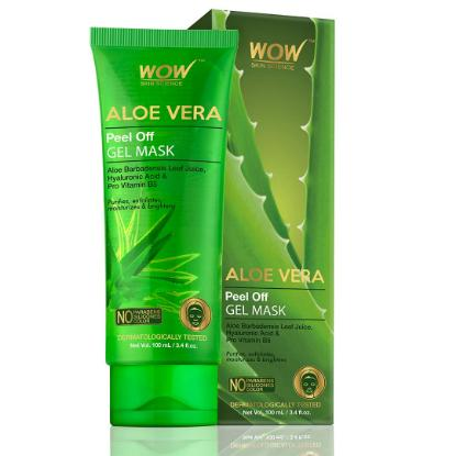 Picture of Wow Skin Science Aloe Vera Peel Off Gel Mask 100ml