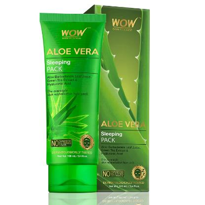 Picture of Wow Skin Science Aloe Vera Sleeping Pack 100ml