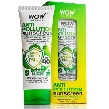 Picture of Wow Skin Science Anti Pollution Sunscreen Lotion 100ml