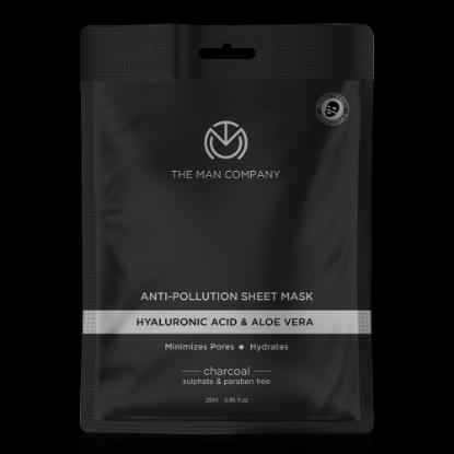 Picture of The Man Anti-Pollution Sheet Mask Pack