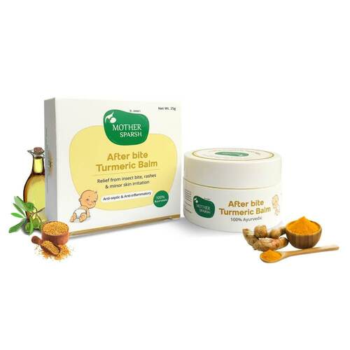 Picture of Mother Sparsh After Bite Tumeric Balm 25gm