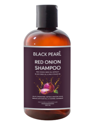 Picture of Black Pearl Red Onion Shampoo