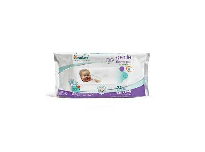 Picture of Himalaya Gentle Baby Wipes 72's