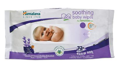 Picture of Himalaya Soothing Baby Wipes 74'S