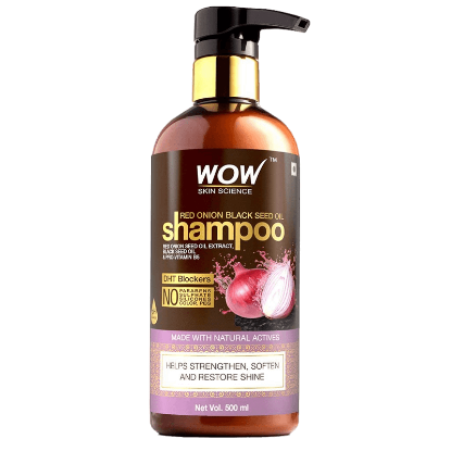 Picture of WOW Skin Science Red Onion Black Seed Oil Shampoo 500ml