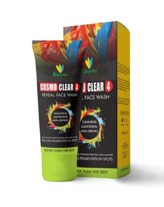 Picture of AlKarim Cosmoclear 4 Reveal Face Wash 100 ml