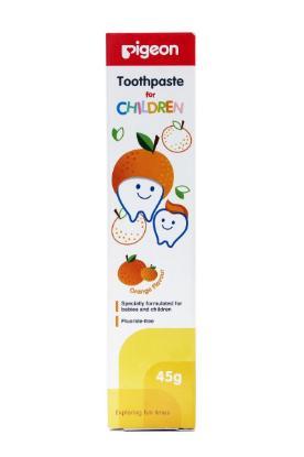 Picture of Pigeon Children Toothpaste, Orange 45gm