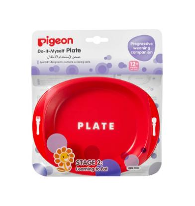 Picture of Pigeon Do-It-Myself Plate