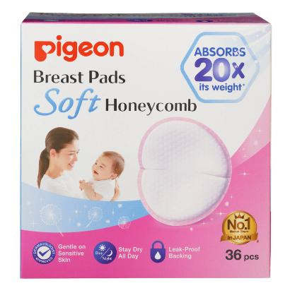 Picture of Pigeon Breast Pad Honeycomb 36Pcs For Singapore