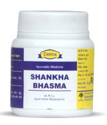 Picture of Dekha Shankha Bhasma 1000gm
