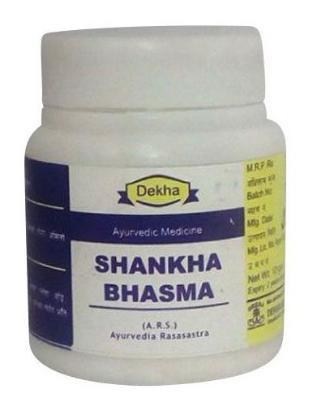 Picture of Dekha Shankha Bhasma 10gm