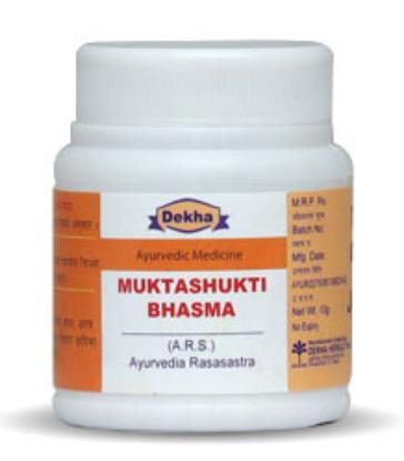 Picture of Dekha Muktashukti Bhasma 10gm
