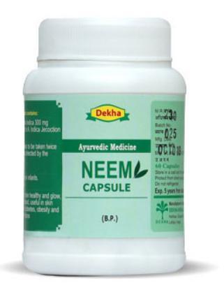 Picture of Dekha Neem Capsule 60cap