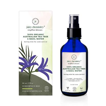 Picture of Juicy Chemistry Toning Mist for Acne Control with Australian Tea Tree & Basil 110ml