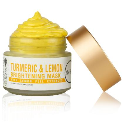 Picture of Earth Rhythm Turmeric & Lemon Brightening Face Mask - 100gm