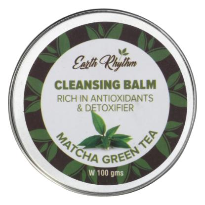 Picture of Earth Rhythm Cleansing Balm With Matcha Green Tea - 100gm