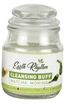 Picture of Earth Rhythm Matcha Moringa Cleansing Buff - 50gm