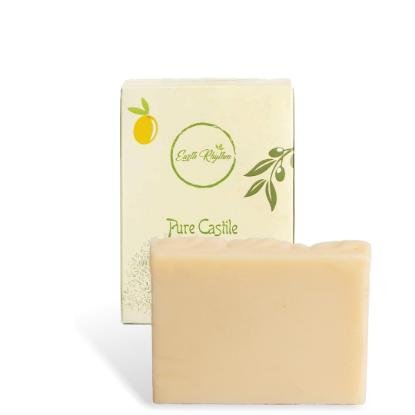 Picture of Earth Rhythm Castile Soap - Pure Olive Oil for All Ages