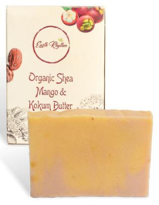 Picture of Earth Rhythm Organic Shea, Mango & Kokum Butter Soap