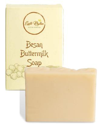 Picture of Earth Rhythm Besan Buttermilk Soap