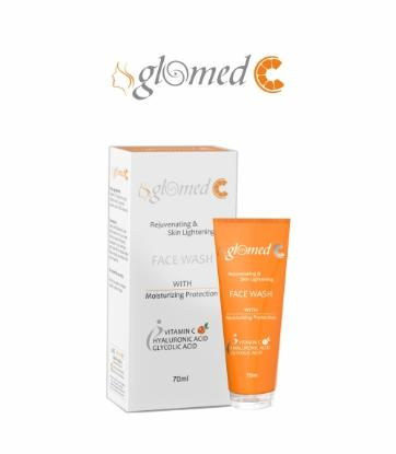 Picture of Glomed C Skin Lightening Face Wash 70ml