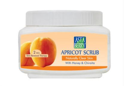 Picture of Asta Berry Appricot Scrub 500ml