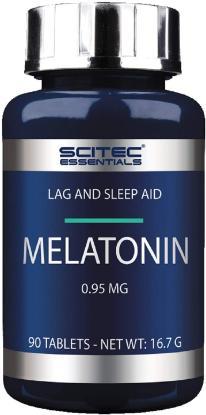 Picture of Scitec Essential Melatonin 90 Tabs 'Bottle