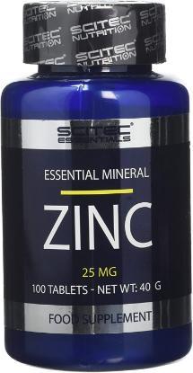 Picture of Scitec Essential Zinc 100 Tablets 'Bottle