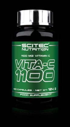 Picture of Scitec Essential Vit-C 1100 (New) 100 Caps 'Bottle