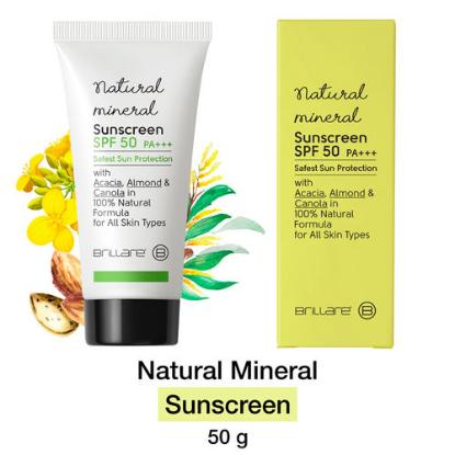 Picture of Brillare Science Natural Mineral Sunscreen Spf 50 50gm