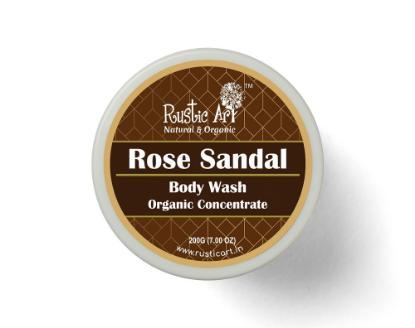 Picture of Rustic Art Rose Sandal Body Wash Concentrate 100gm