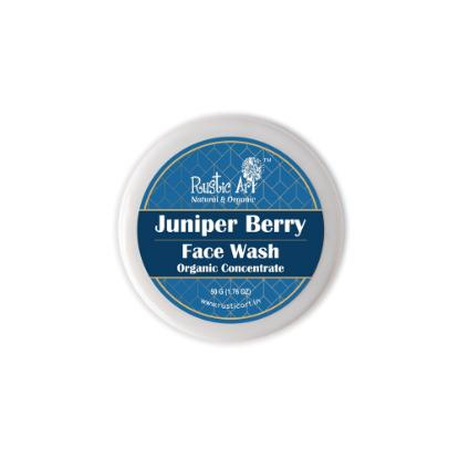 Picture of Rustic Art Organic Juniper Berry Face Wash Concentrate 50gm