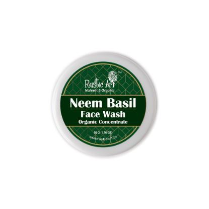 Picture of Rustic Art Organic Neem Basil Face Wash Concentrate 50gm