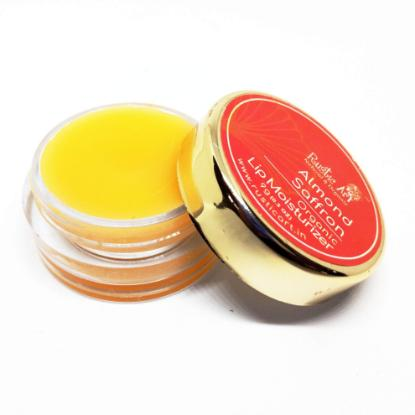 Picture of Rustic Art Almond Saffron Lip Moisturizer 9gm