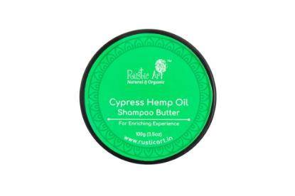 Picture of Rustic Art Cypress Hemp Oil Shampoo Butter 100g