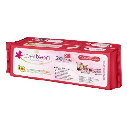 Picture of Everteen Neem Safflower Soft Pads XL 280mm - 20pcs
