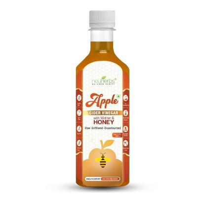 Picture of Neuherbs Apple Cider Vinegar with Mother & Honey 350ml