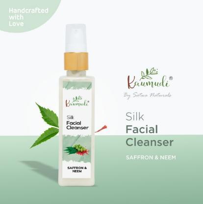 Picture of Satwa Naturals Silk Facial Cleanser with Saffron & Neem