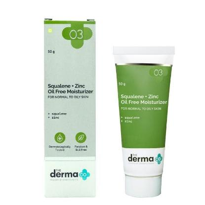 Picture of The Derma Co. Squalene + Zinc Oil Free Moisturizer 50gm