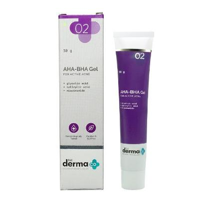 Picture of The Derma Co. AHA-BHA Gel 30gm