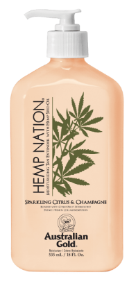 Picture of Australian Gold Hemp Nation Body Lotion Sparkling citrus and champagne  535ml