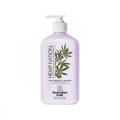 Picture of Australian Gold Hemp Nation Body Lotion Wild berries and lavender 535ml
